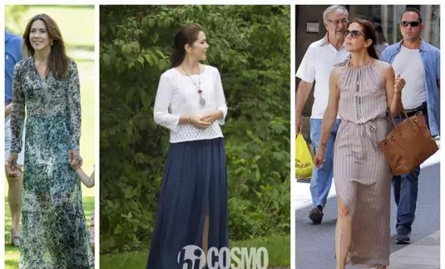 丹麦王妃服装大全照_丹麦王妃街拍造型