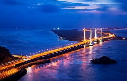 中國最長的跨海大橋排名,珠港澳大橋49.968千米名列第一!