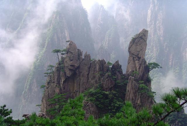 黄山西大门:西海大峡谷