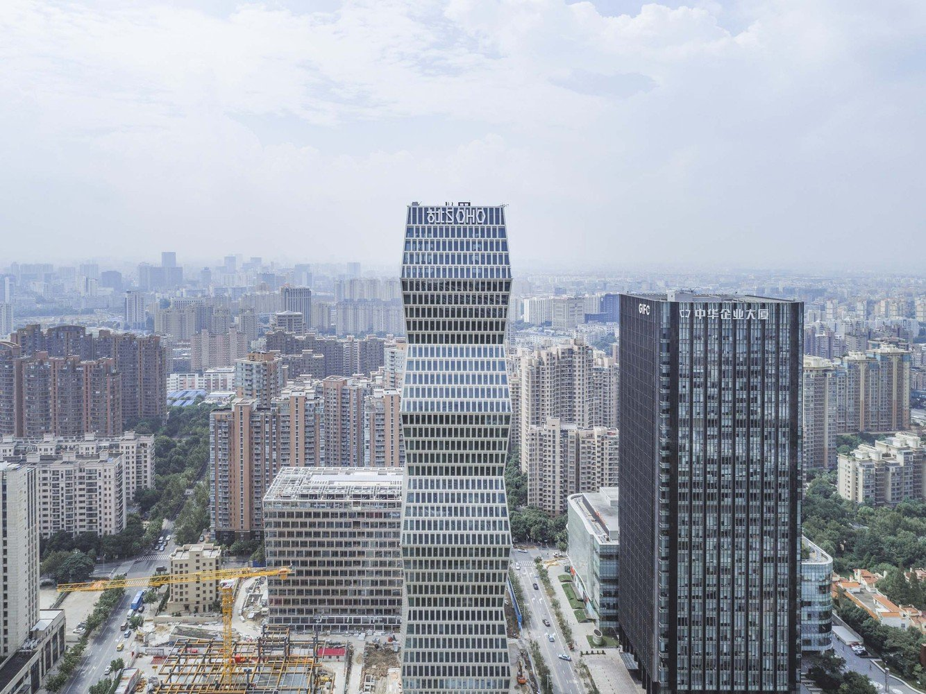 绿地soho同盟地址_上海古北 SOHO丨KPF|古北|商务区|新虹桥_新浪网