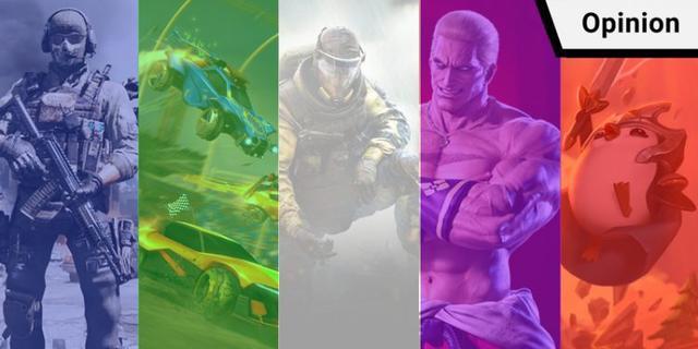 2020年上升的五大PC/游戏机游戏,CF获得荣誉奖。