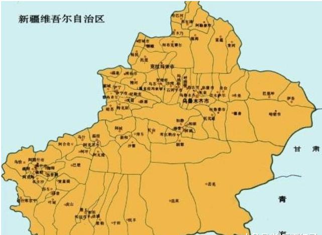 为什么新疆,西藏和内蒙古的面积那么大? 可算是知道了