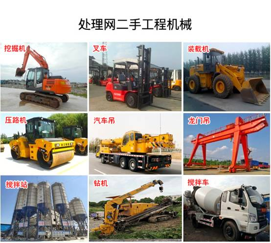 處理網:二手工程機械市場前景廣闊