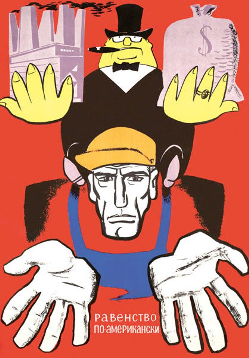 美国杀人犯排行榜_打倒美帝国主义 60年代苏联反美宣传画|反美|宣传画|苏联_新浪新闻