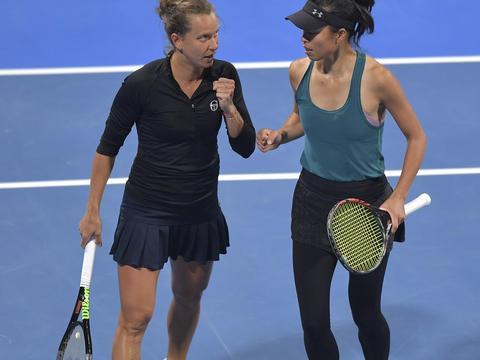 网球 | WTA卡塔尔公开赛:谢淑薇/斯特里科娃双打夺冠