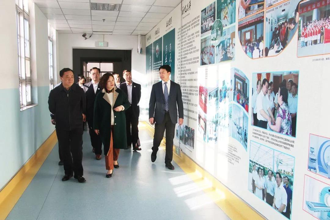 山东省医院协会民营医院分会专家莅临潍坊市市立医院考察指导工作