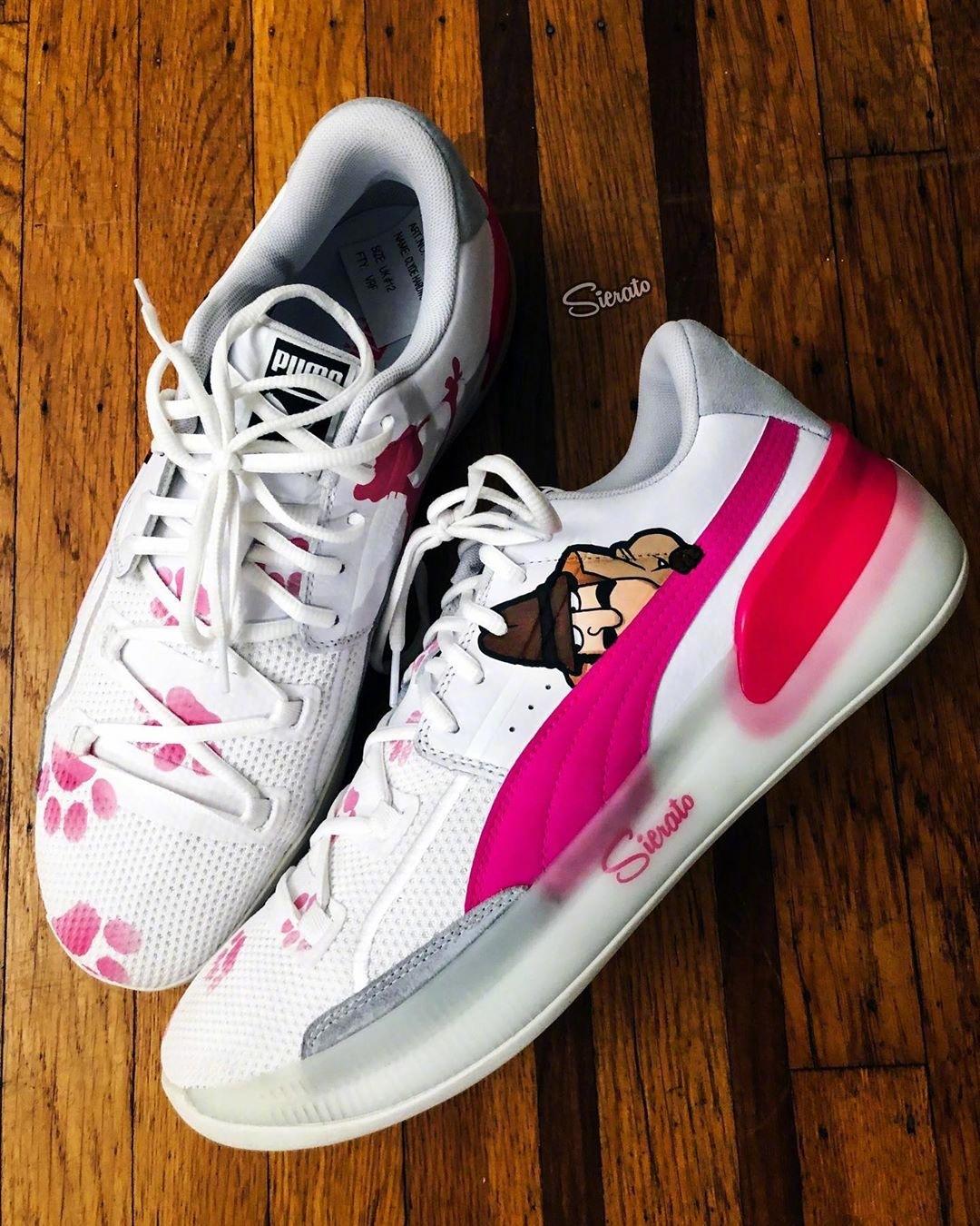 clyde hardwood puma pink \u003e Clearance shop