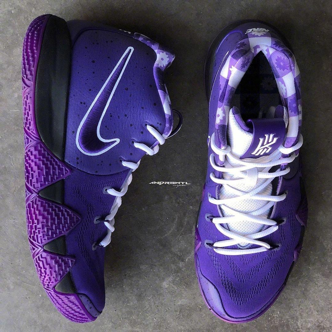 kyrie 4 purple lobster