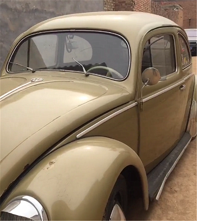 50年代甲壳虫,备胎前置,名字源于一昆虫,有钱还很难买!