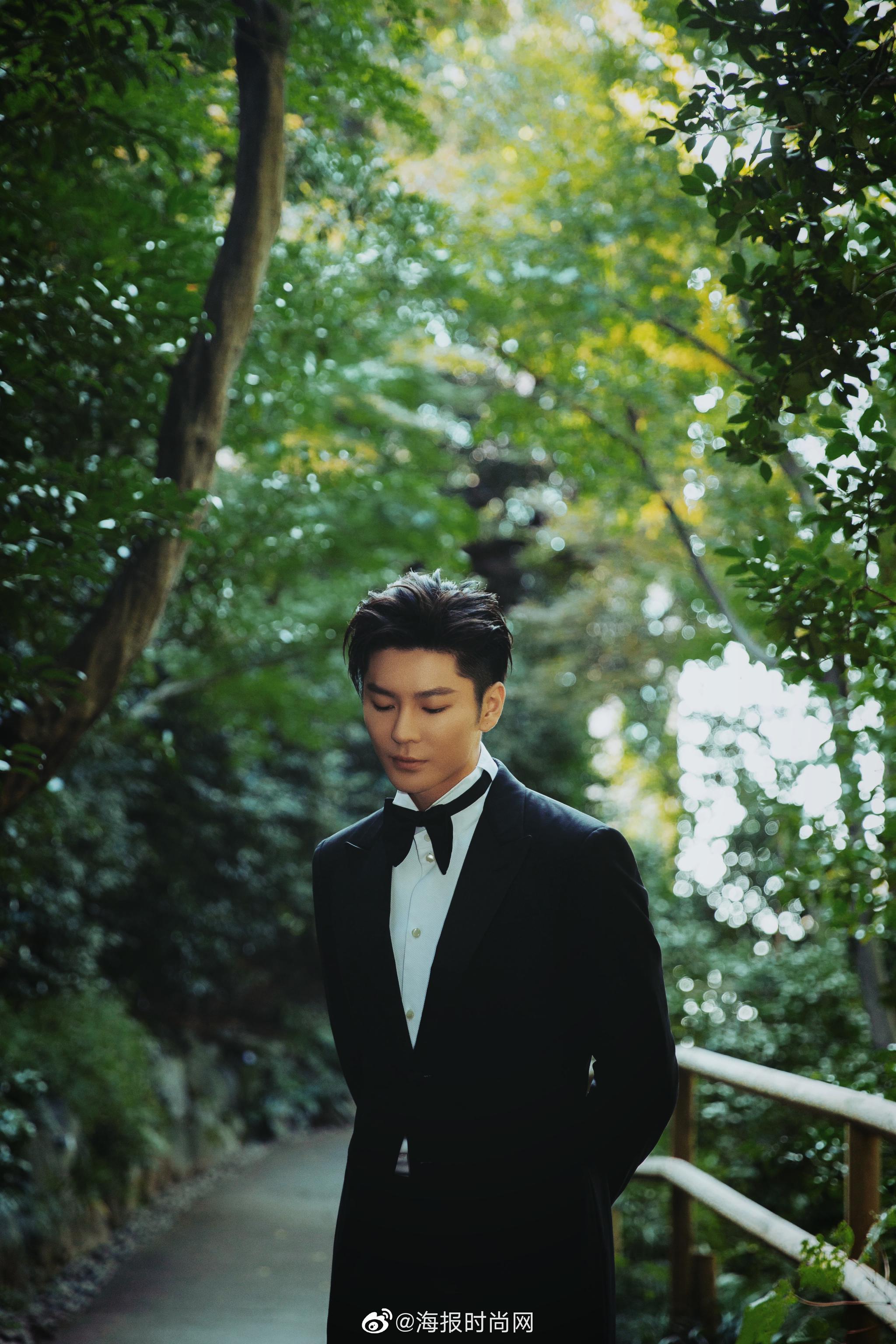 演员@王嘉Jevon 今日携作品《如影随心》亮相东京国际电影节开幕式红