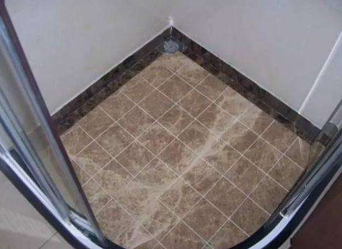 淋浴房装修不要铺瓷砖了,以后都潮流这样装,真懊悔没早知道