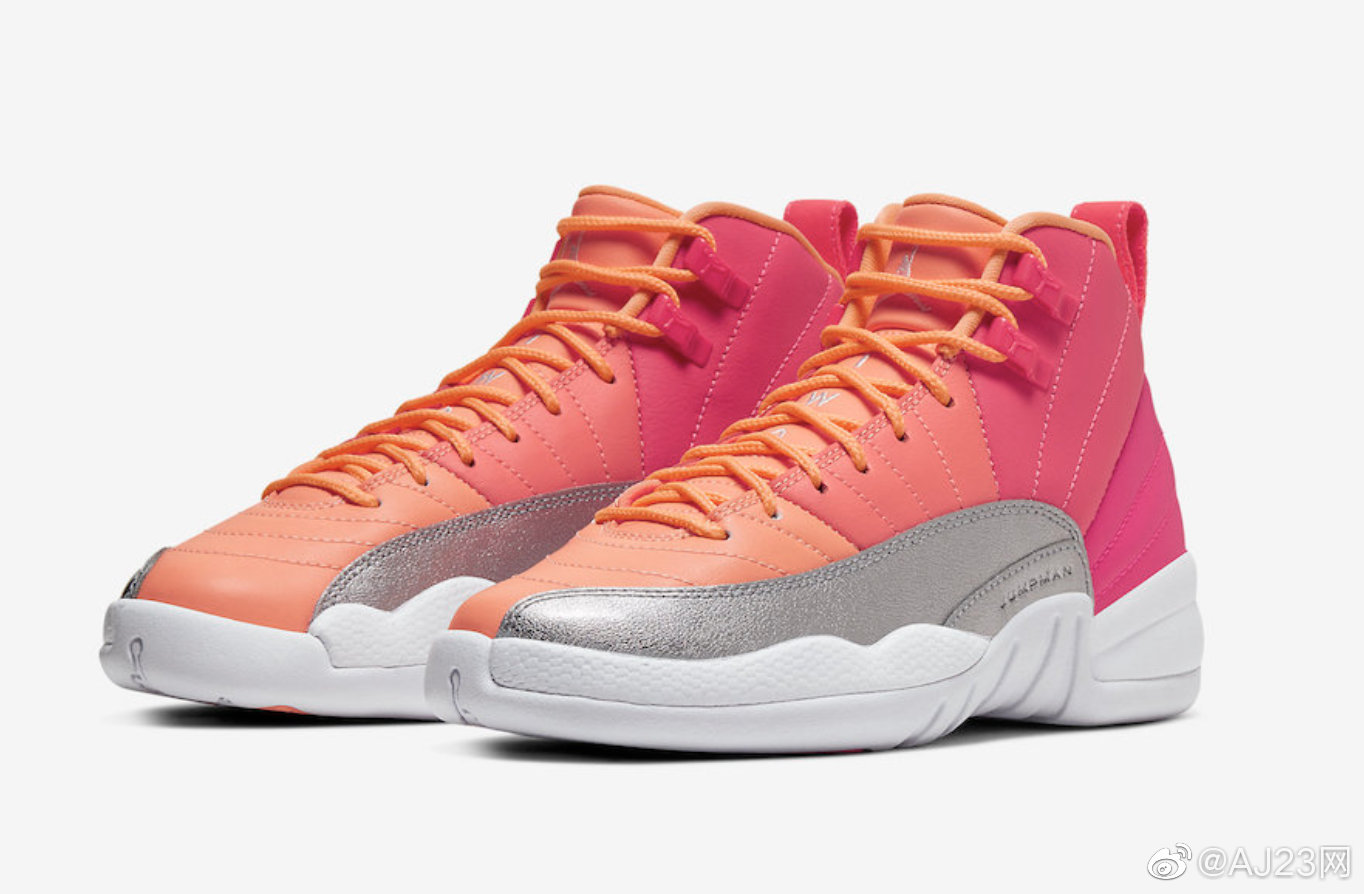 "AIR JORDAN 12 GS ""HOT PUNCH"" 10月4日发售,货号:510815-601 ..."