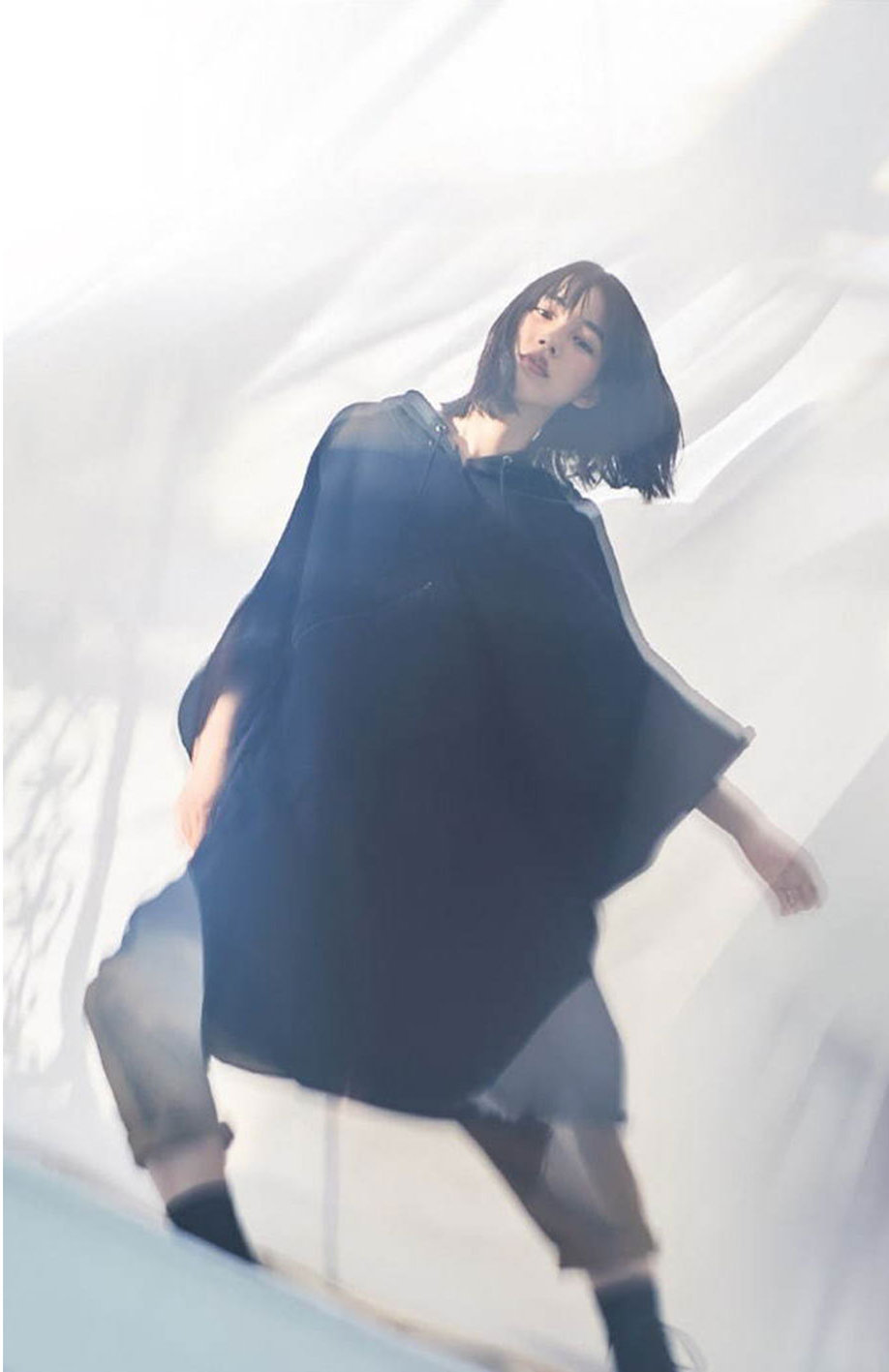 能年玲奈, 黑羽麻璃央丨Yohji Yamamoto副线GROUND Y 2020 SS_高清图集_ ...