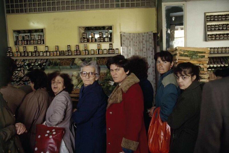 老照片 1990年的阿爾巴尼亞圖片