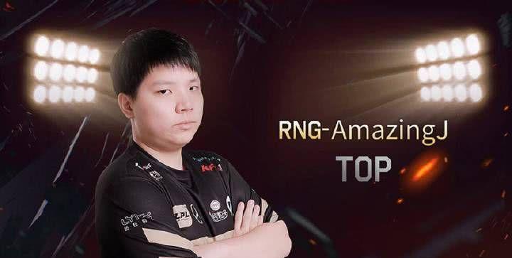 RNG官宣AJ正式连接,网友:一个被SKT历代上单