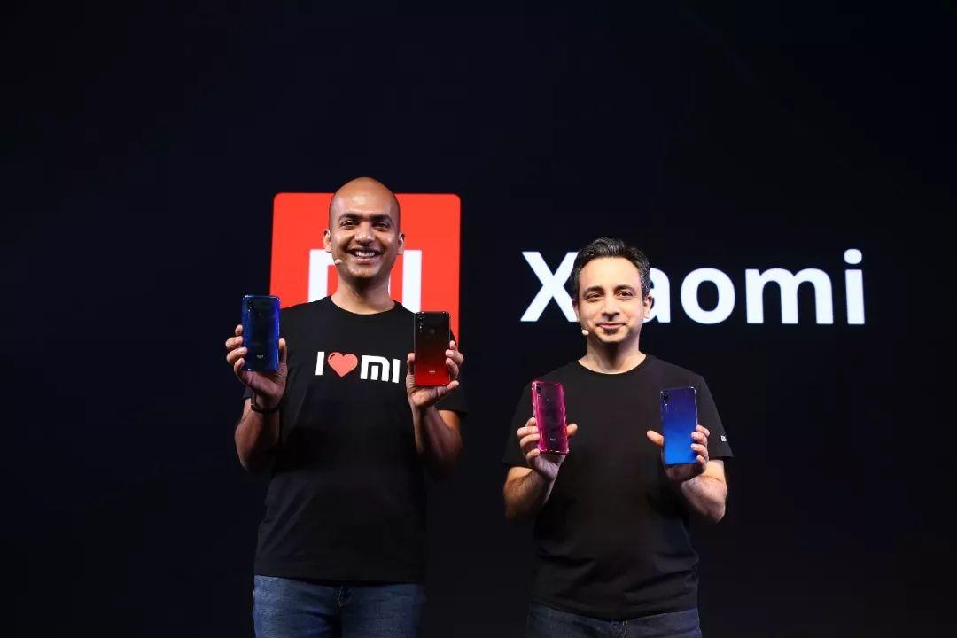 ▲4月24日,印度新德里,小米公司在当地推出Y3智能手机。