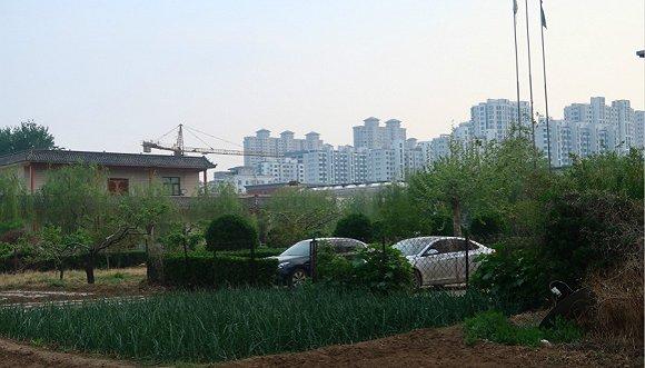 如今,邯郸洪源房地产公司内少人有走动。摄影:黎文婕