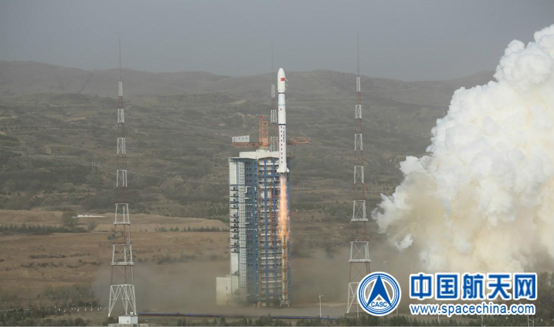 長征四號乙運載火箭成功將天繪二號衛星送入太陽同步軌道星