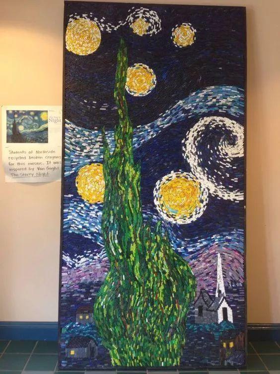 【创意美工】幼儿园创意美术的环创idea,原来环创还可以这样玩!