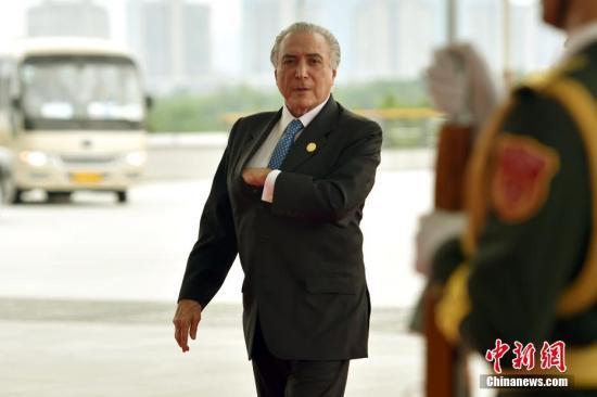 资料图:巴西前总统特梅尔。 中新社记者 金硕 摄