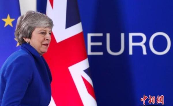 英国首相特雷莎·梅。 中新网 资料图