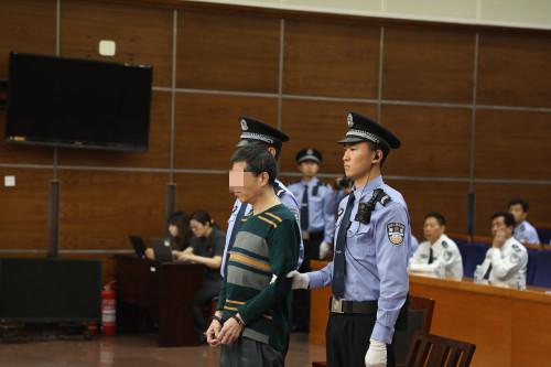 刘某今日在法院受审。法院供图