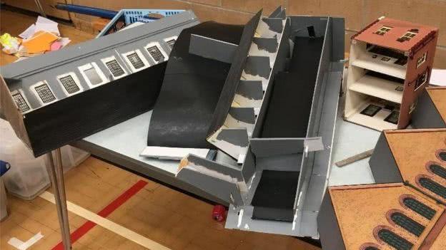 模型都被捣毁了 图自马基特迪平俱乐部