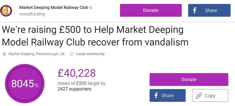 不到半天,募捐已经超过了40000英镑