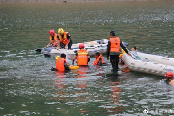 貴州一農戶自用船發生側翻致10人遇難 船主被警方控制