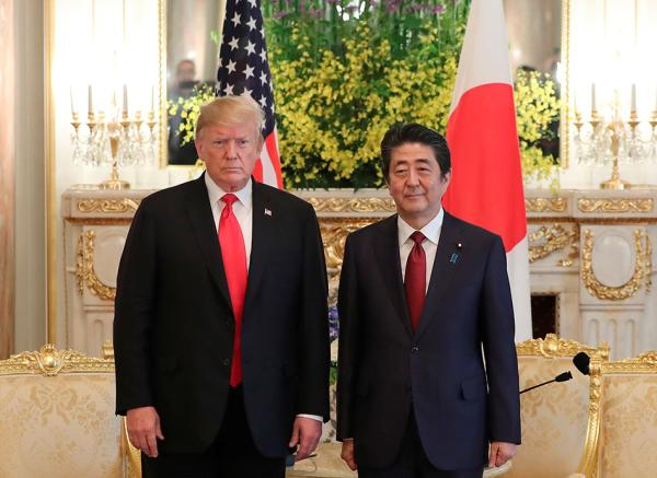日美首脑会谈未就贸易谈判实质问题达成一致