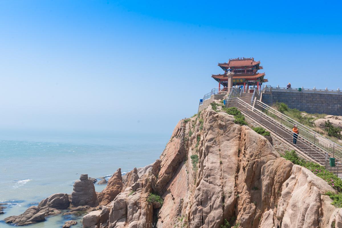 中国距离韩国最近的景区,只有94海里,就在山东