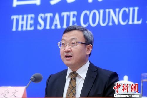 商务部副部长王受文。(资料图)中新社记者 张宇 摄