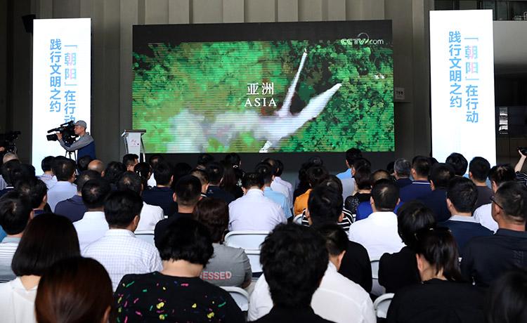 朝阳区举行新时代文明实践推动日主题活动