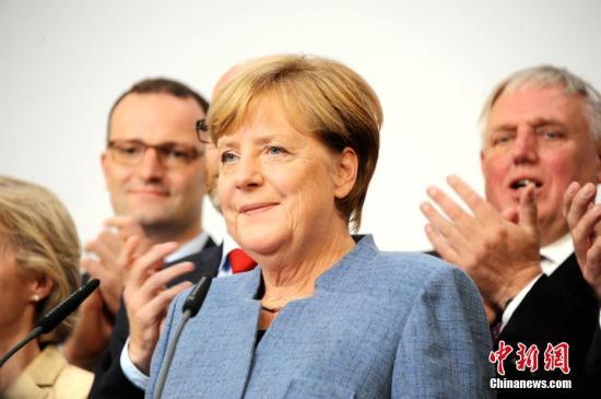 资料图:德国总理默克尔。 中新社记者 彭大伟 摄