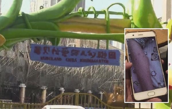 5月30日,沈阳酷贝拉喜欢弥儿小儿园中3班两名教师涉嫌用牙签等针状物扎本班儿童的案件开庭审理。读者供图