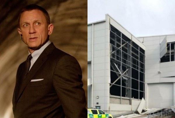 第25部《007》再出意外!片场发生爆炸一片狼藉