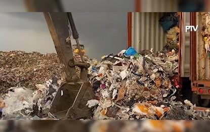 菲律宾要清除的垃圾 图菲律宾新闻社