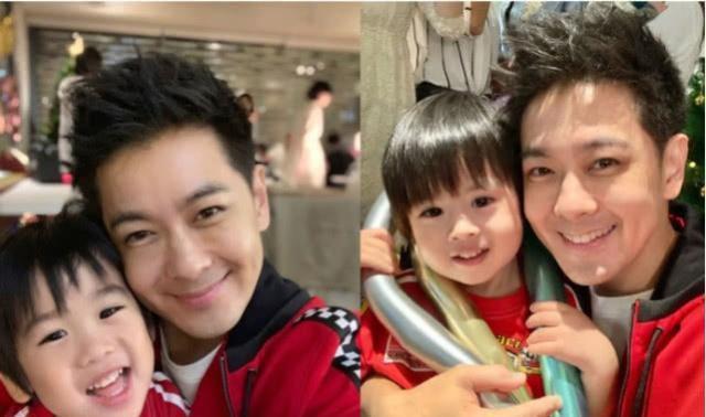 林志穎老婆帶雙胞胎遊玩美腿搶鏡,小兒子表情呆萌顏值賽過老爸