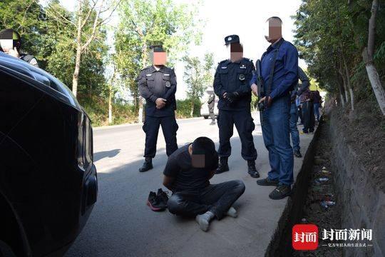 200名警力9路出击 山区公路围追堵截