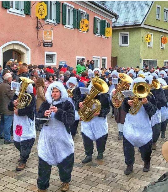 迪特福特的中国狂欢节现场。来源:德国中文网