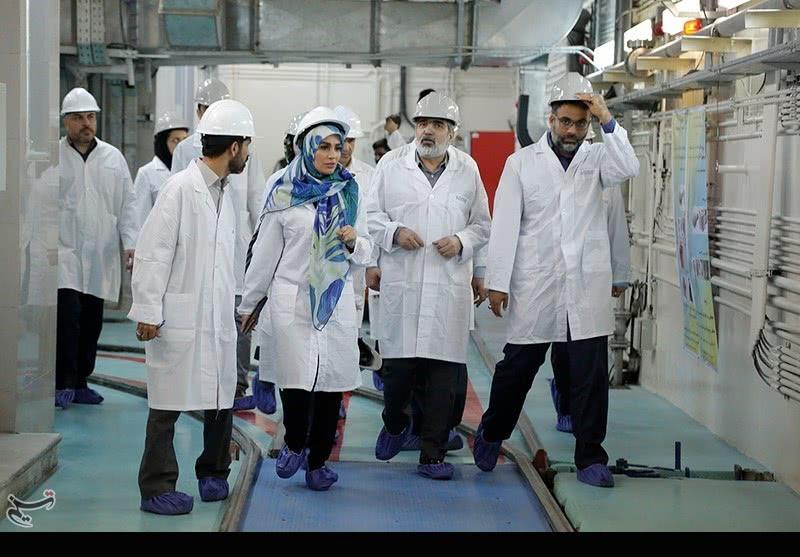 伊朗阿拉克重水工廠 圖自:塔斯尼姆通訊社