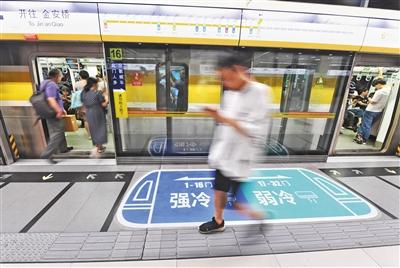 地铁列车有人嫌热有人怕冷怎么办 北京地铁6号线出妙招!
