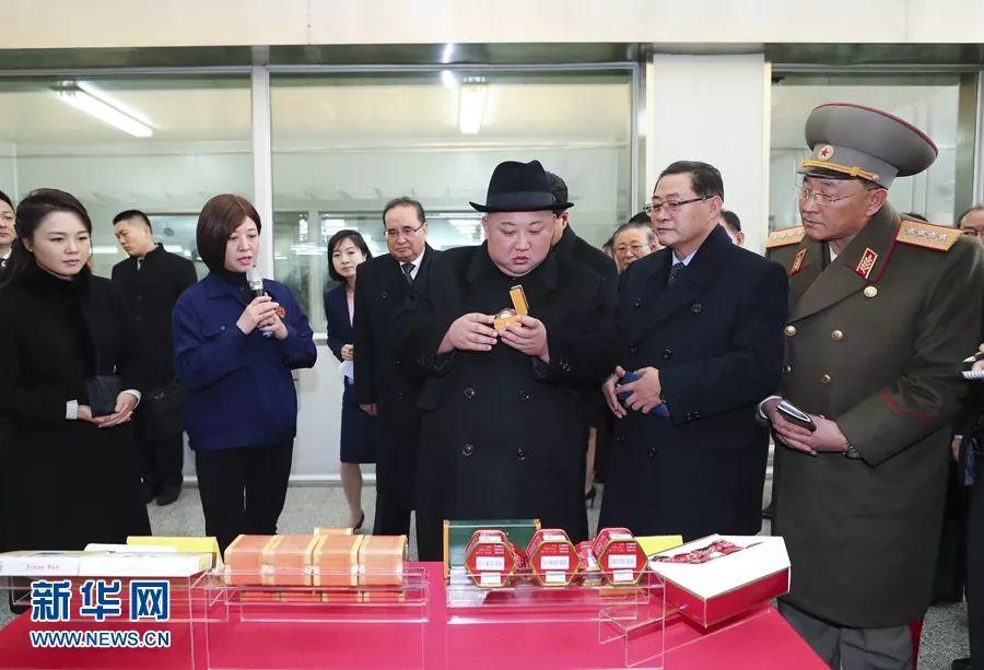 2019年1月9日,金正恩参观北京同仁堂股份有限公司同仁堂制药厂亦庄分厂