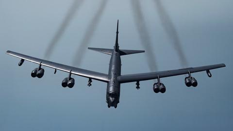 美军B-52H轰炸机。(图源:美国空军)