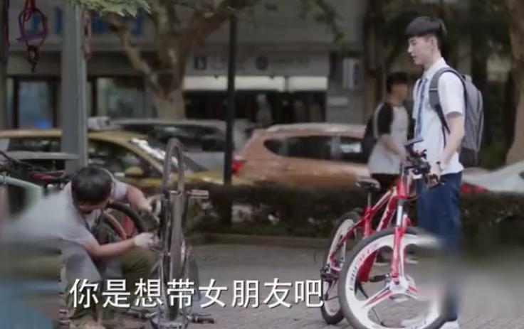 少年派:钱三一自行车加后座,林妙妙主动要求被载,小心机好甜蜜