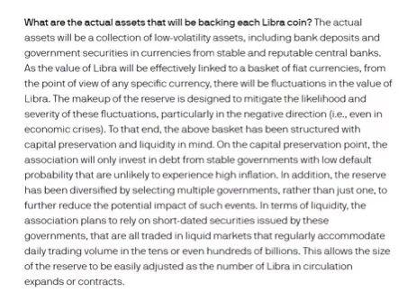 截图来自Libra电子币的官方介绍材料