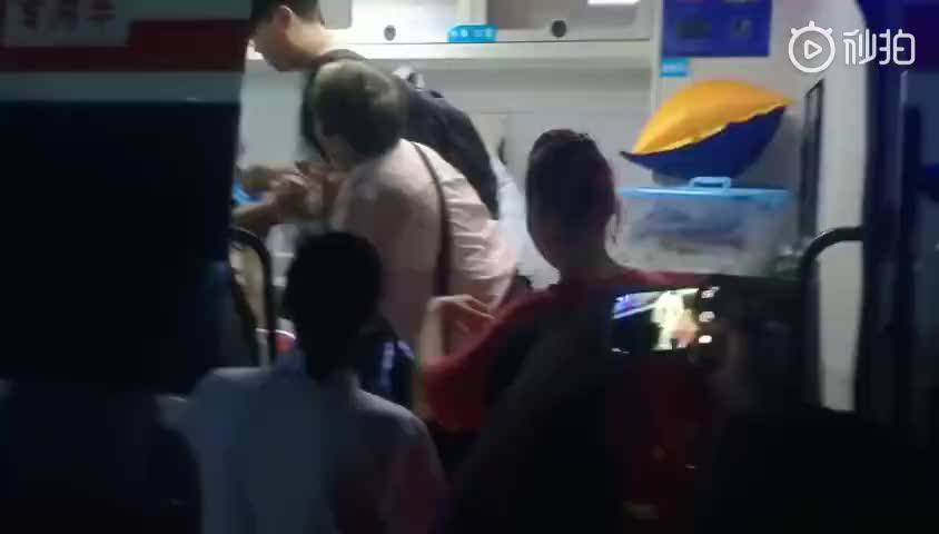 医院视频_视频:四川珙县地震安置点一孕妇将临盆 已被医院接走