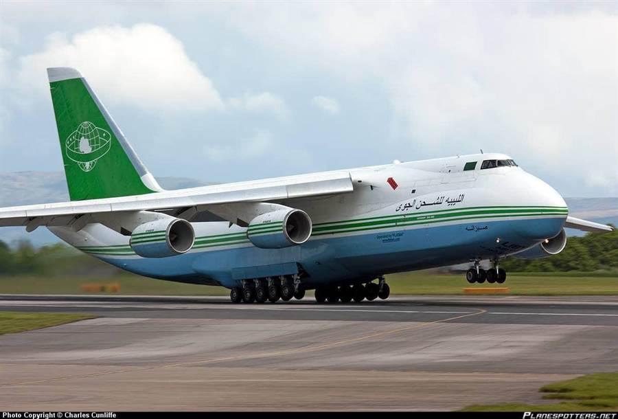 利比亚安-124运输机 图社交媒体