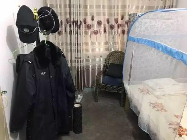刘彦在南川监狱的宿舍。澎湃新闻记者 胥辉 资料图