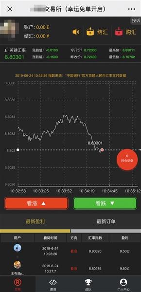微交易平�_�面。